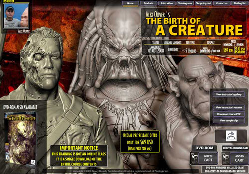ZBrush Tutorial – The birth of a Creature | cgresources